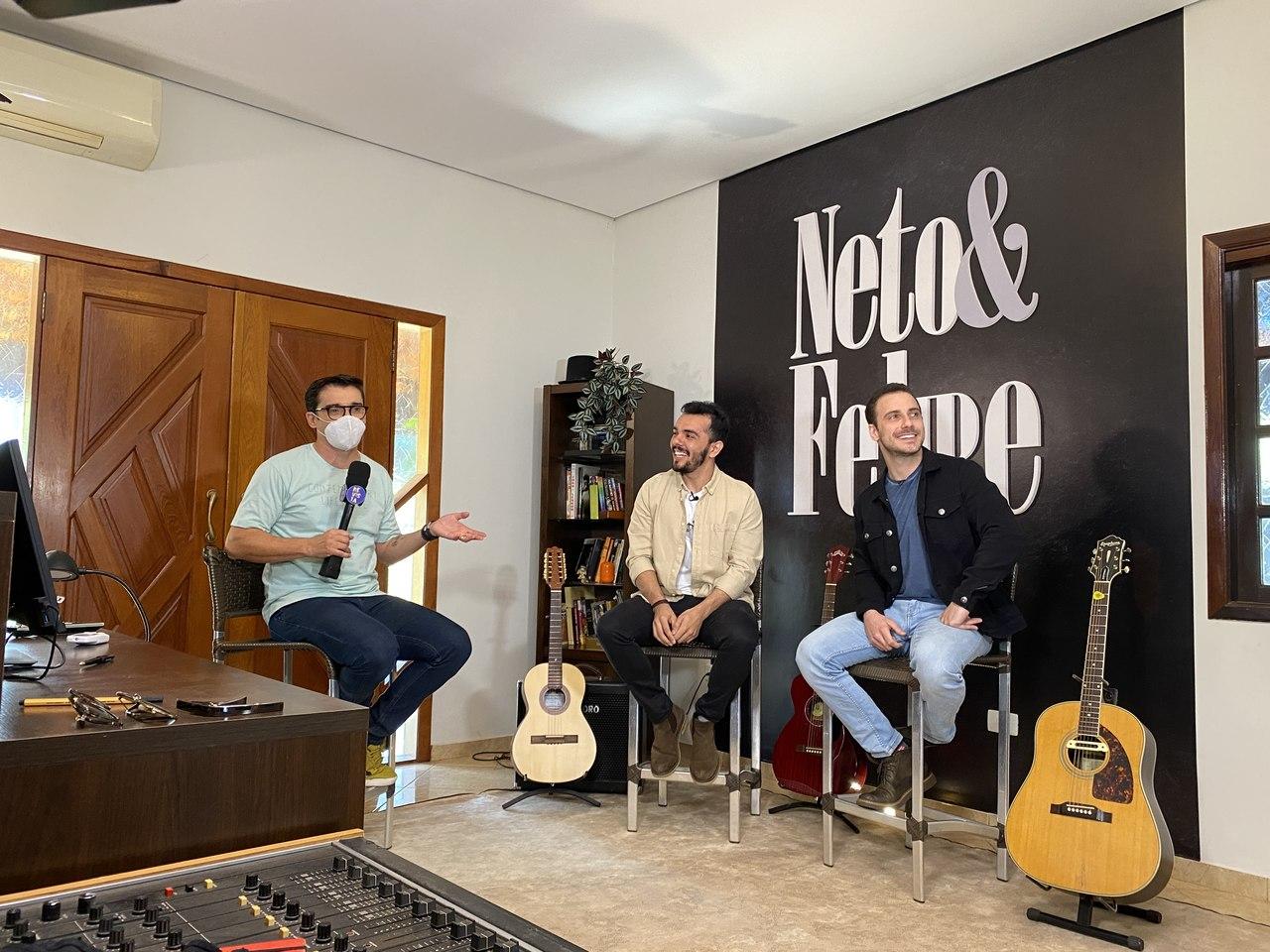 Neto & Felipe na TV TEM 41