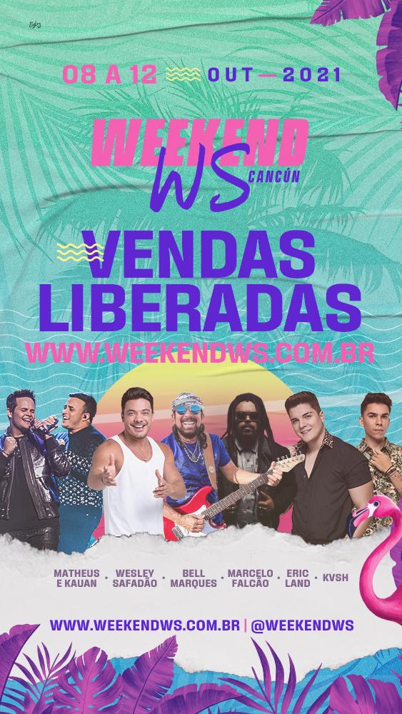 """Presença marcante em todos os cantos do mundo, Wesley Safadão apresenta """"Weekend WS Cancún"""" 42"""