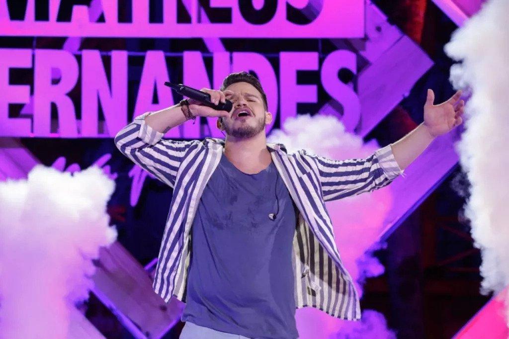 Álbum de Matheus Fernandes é o 3º mais ouvido no Spotify Global e o único brasileiro no Top10 41