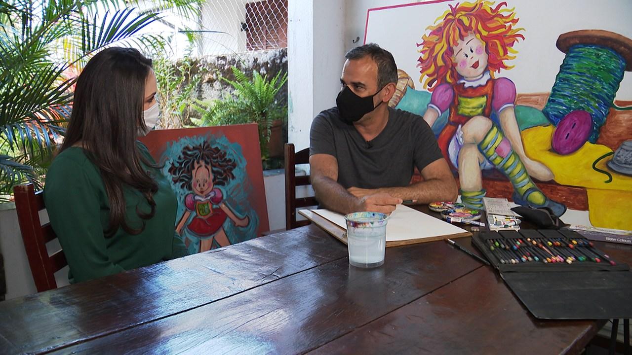 Vida de Monteiro Lobato é tema de reportagem da TV Aparecida 43