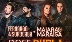 "Fernando e Sorocaba e Maiara e Maraísa em ""Dose Dupla"" no Villa Country 2"