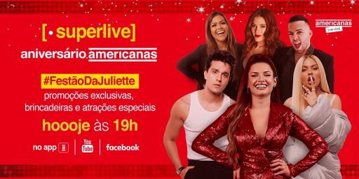Aniversário da Americanas reúne Juliette Freire, Luan Santana, Luisa Sonza, Ana Clara, Lucas Rangel e Camila Loures 41