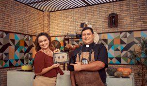 Padre Chef prepara um delicioso salmão e dá boas-vindas à Primavera 21
