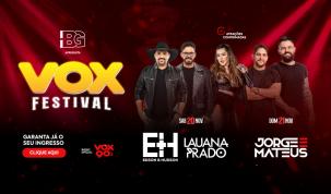 Vox Festival 2021: Vox90 anuncia evento no Recinto da Festa do Peão de Americana 2